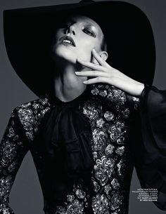Suvi Koponen By Hedi Slimane For Vogue Russia March2013 - 3 Sensual Fashion Editorials | Art Exhibits - Anne of Carversville Women's News