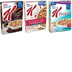 Kelloggs Special K Cereal Variety Pack. Convenient One-Stop Shopping For Special K Protein Cereals. Easy to Source These Hard to Find Products. Up to 5 Grams of Fiber in Each Box. Breakfast Heaven! *** Click image to review more details. (This is an affiliate link) #HealthySnacksForKids