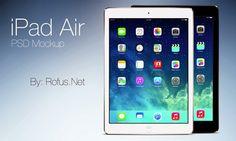iPad Air PSD Mockup