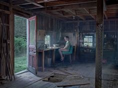 The Barn, 2014 (Cathedral of the Pines). Gregory Crewdson.