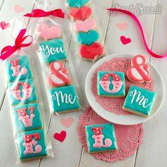 valentine cookie minis
