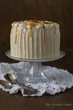The Sweetest Taste A Food, Good Food, Diy Cake, Pavlova, Sweet Desserts, Vanilla Cake, Bakery, Pumpkin, Sweets