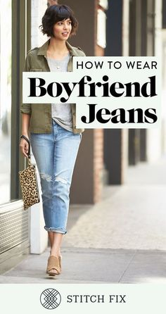 If you're thinking about investing in a pair or just made it official with your first boyfriend (jean), prepare to fall in love. Their less-structured, lived-in feel make them the perfect accompaniment to your go-to cargo jacket, basic tee and peep-toe wedges to add some height.