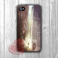 The Maze Runner Quote - Fzia for iPhone 4/4S/5/5S/5C/6/ 6+,samsung S3/S4/S5,samsung note 3/4