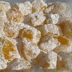 Turkish Delight - used 4 c organic sugar instead of GMO corn syrup. zested one large orange, and added 2 tsp of orange blossom water. Buttered the glass baking dish then powdered with powdered sugar. The rest of the recipe stays the same.