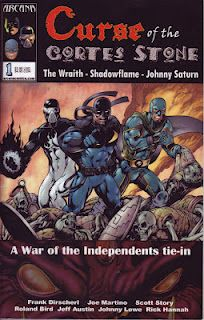 Lead-in comic that ties into the War of the Independents