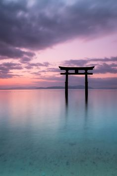 Shirahige shrine, Shiga, Japan: photo by Kenji Yamamura