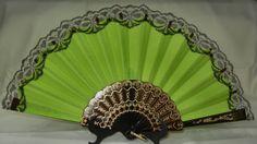 plain color Spanish Fan