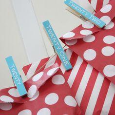 Printable+Advent+Calendar+Clothespin+Labels+door+printyourparty,+$6,00