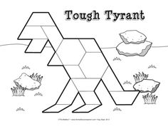 Reinforce visual spatial skills with dinosaurs and pattern