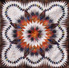 Dragon Star ~ Quiltworx.com, by Certified Instructor, Roger Kerr