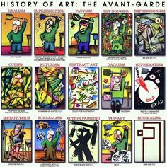Art History in a nutshell. Particularly the one for impressionism] Action Painting, Learn Painting, Painting Art, Art History Lessons, Art Lessons, Art History Timeline, Art Timeline, History Major, Art Pop
