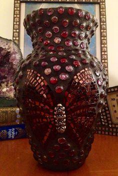Mosaic Vase by AdelTate on Etsy