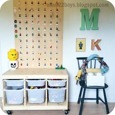 Legoroom mum22boys - drenge værelse til legofan