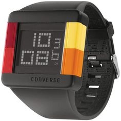 Converse High Score digital watch - Asteroids colorway - Black, Red, Yellow, Orange