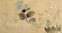 尾形光琳 四季草花図巻 | Art,etc.