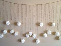 DIY Tissue Paper Flower Wedding Garland Kit by giddy4paisley, $30.00