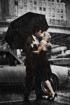 Que bonito es el Amor ...aunque llueva!!
