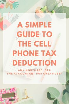 Can I deduct my personal cell phone on my small business taxes? Yes, in fact this is a deduction that a lot of people forget to take on their small business taxes. Small Business Bookkeeping, Small Business Tax, Business Money, Business Tips, Online Business, Business School, Salon Business, Business Planning, Creative Business