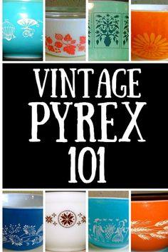 Vintage Pyrex 101