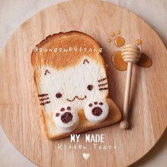 Kitten toast