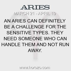 Fact about Aries: An Aries can definitely be a challenge for the sensitive... #aries, #ariesfact, #zodiac. More info here: https://www.horozo.com/blog/an-aries-can-definitely-be-a-challenge-for-the-sensitive/ Astrology dating site: https://www.horozo.com