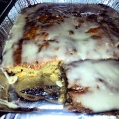 "Honey Bun Cake! 4.67 stars, 10 reviews. ""awesome cake !"" @allthecooks #recipe #cake #dessert #easy #breakfast #christmas"