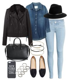 """""""Untitled #3527"""" by natalie-123s ❤ liked on Polyvore featuring H&M, R13, Givenchy, rag & bone and ASOS"""