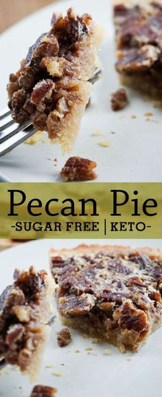 This incredible low carb pecan pie is sure to steal the show. Full of great ingredients and without the sugar in the regular version. This pie is even OK for keto and low carb!