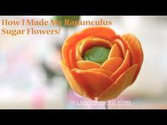 Ranunculus Flower Tutorial - YouTube