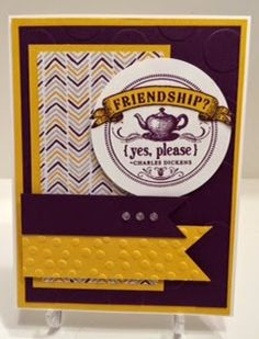 Stampin' Up! MissyJ 2014 From My Heart, Blackberry Bliss, and Moonlight Paper Stack