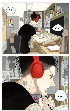 Old Xian Mosspaca Advertising Department 19 Days Characters, Anime Characters, Manhwa Manga, Manga Anime, Anime Boys, Kawaii Anime, 19 Days Manga Español, Mosspaca Advertising Department, Tan Jiu