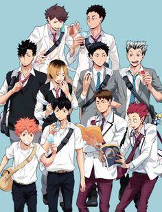 Haikyuu #anime #manga
