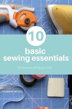 I have put together a list of essential tools for sewing. These are the tools that I use almost everyday. They are the basic sewing essentials that help lay the foundation for all your sewing projects. The Sewing Loft