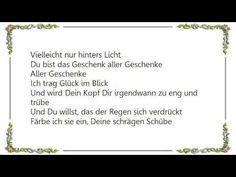 Herbert Grönemeyer - Glück