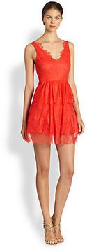 shopstyle.com: BCBGMAXAZRIA Willa Tiered Lace Dress