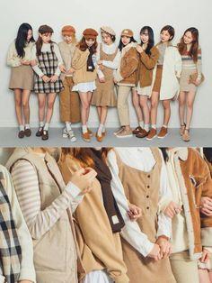 Korean Fashion Similar Look - Fashion Cute Fashion, Look Fashion, Winter Fashion, Girl Fashion, Fashion Outfits, Womens Fashion, Fashion Styles, Korean Fashion Trends, Korea Fashion