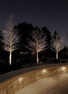 10 Retaining Wall Lights Ideas Retaining Wall Landscape Lighting Backyard