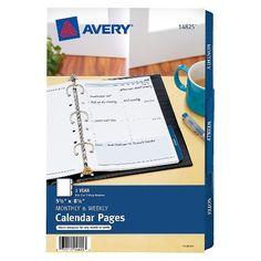 Avery Memo Planner