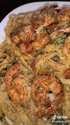 Seafood Dishes, Seafood Recipes, Cooking Recipes, Healthy Recipes, Good Food, Yummy Food, Tasty, Shrimp Recipes For Dinner, Food Cravings