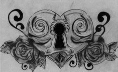 Heart Locket Tattoo By Spongytweety On Deviantart