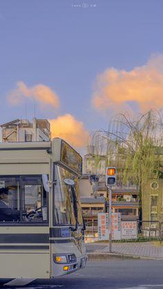Soft Wallpaper, Scenery Wallpaper, Aesthetic Pastel Wallpaper, Aesthetic Backgrounds, Aesthetic Wallpapers, Wallpaper Backgrounds, Aesthetic Japan, Japanese Aesthetic, City Aesthetic