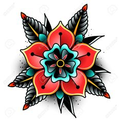 Tattoo Trends – Old school tattoo art flowers for design and decoration. Old school tattoo flowe… awesome Tattoo Trends – Old school tattoo art flowers for design and decoration. Old school tattoo flowe… Traditional Tattoo Flowers, Traditional Tattoo Design, American Traditional Tattoos, Traditional Tattoo Illustration, Traditional Heart Tattoos, Traditional Tattoo Filler, Traditional Tattoo Old School, Mandala Tattoo Design, Kunst Tattoos