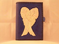 Angel Wings Genuine Leather Journal by HawkLeather on Etsy, $75.00