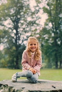 The Swedish Court released new photos of Princess Estelle and...