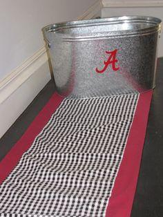 Alabama Table Runner via Etsy