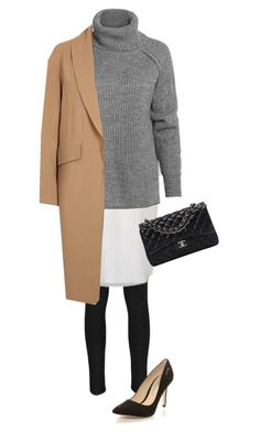 """Layers!"" by mpociute on Polyvore featuring Boohoo, Alexander Wang and Chanel"