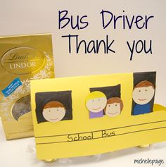 Bus Driver Thank You gift