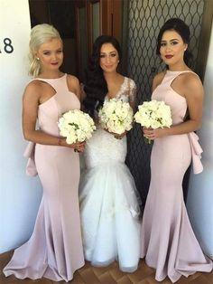 Mermaid bridesmaid dresses, Unique bridesmaid dresses, Sexy bridesmaid dresses…