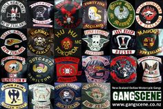 """Gangscene provides factual information about New Zealand gangs. Cam Stokes, author of """"The Devils Are Here"""", takes you inside the Kiwi gang scene, with a focus on outlaw motorcycle gangs Biker Clubs, Motorcycle Clubs, Chopper Motorcycle, New Motorcycles, Harley Davidson Motorcycles, Harley Bikes, Vetement Hip Hop, Biker Quotes, Chopper Bike"""